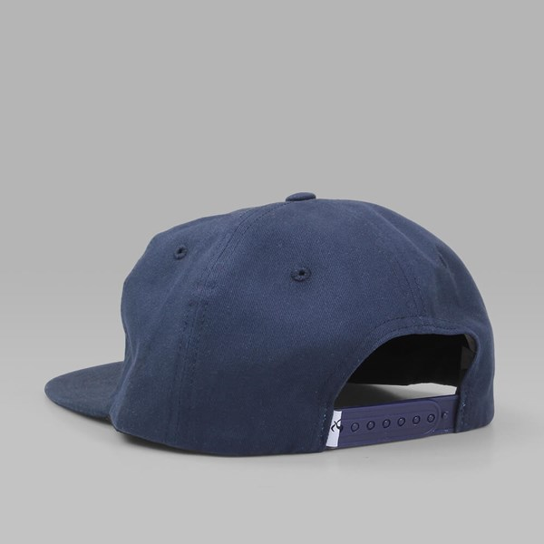 QUASI 'LADYBOY' UNSTRUCTURED CAP NAVY