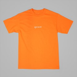 QUASI LOGOS SS T-SHIRT ORANGE
