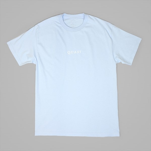 QUASI LOGOS SS T-SHIRT POWDER BLUE