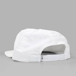 QUASI 'MAYO' UNCONSTRUCTED DAD CAP WHITE