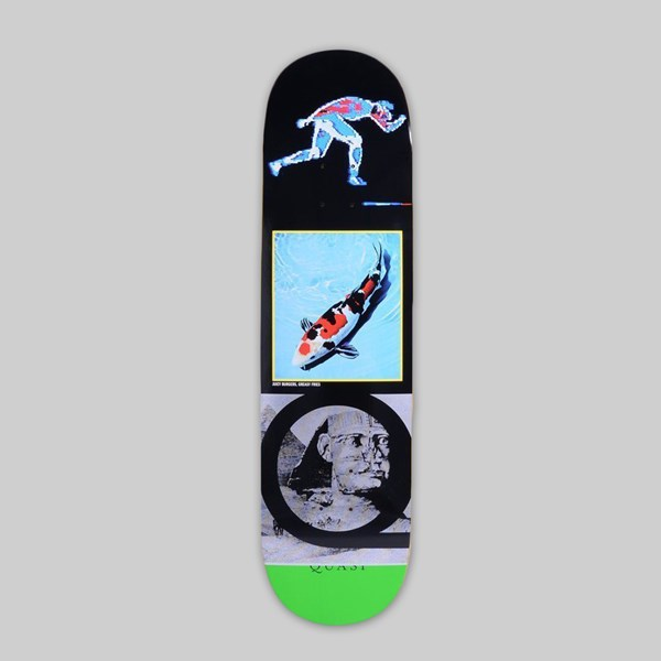 QUASI SKATEBOARDS 'MILO' DECK GREEN 8.5""