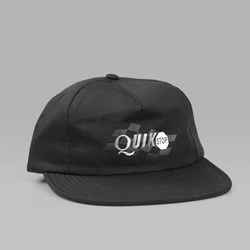 QUASI 'QUIKSTOP' UNSTRUCTURED CAP BLACK