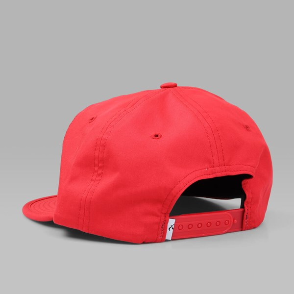 QUASI 'QUIKSTOP' UNSTRUCTURED CAP RED