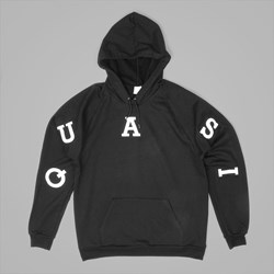 QUASI RELAY PREMIUM HOODED SWEAT BLACK