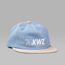QUASI SHORTWAVE 5PANEL CAP DENIM OYSTER
