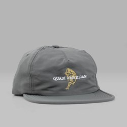 QUASI SKATEBOARDS BASS CAP GREY