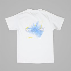 QUASI SKATEBOARDS CARL TEE WHITE
