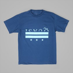 QUASI SKATEBOARDS DISTRICT SS TEE BLUE