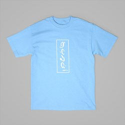 QUASI SKATEBOARDS GULF TEE CAROLINA BLUE