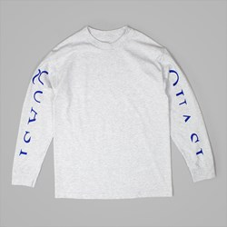 QUASI SKATEBOARDS MONO LONG SLEEVE TEE GREY