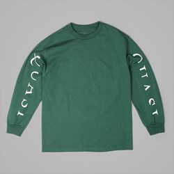 QUASI SKATEBOARDS MONO LONG SLEEVE TEE FOREST