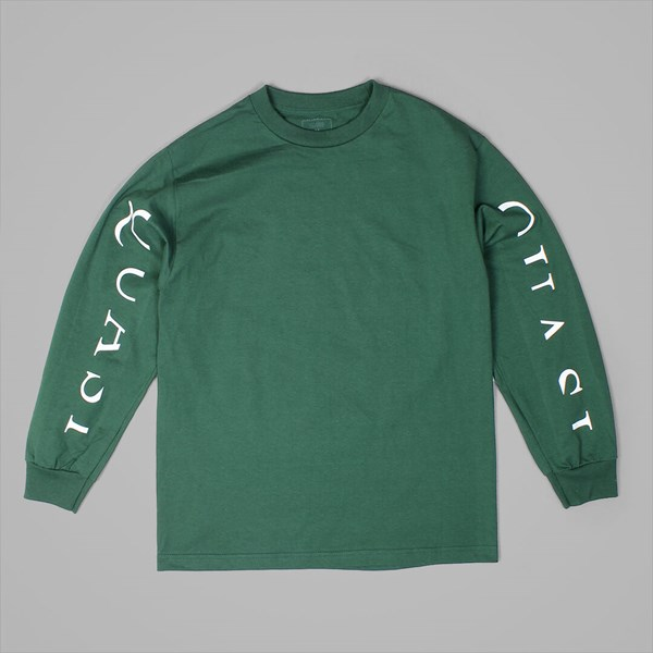 a4ee6ff2052 QUASI SKATEBOARDS MONO LONG SLEEVE TEE FOREST