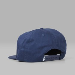 QUASI SKATEBOARDS 'OE' 6 PANEL CAP DARK NAVY