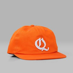 QUASI SKATEBOARDS 'OE' 6 PANEL CAP ORANGE