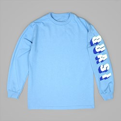 QUASI SKATEBOARDS PRIX LS TEE CAROLINA BLUE