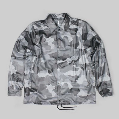 RAINS AOP CAMO JACKET NIGHT CAMO