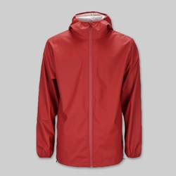 RAINS BASE JACKET SCARLET