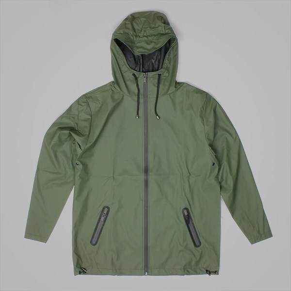 RAINS BREAKER JACKET GREEN