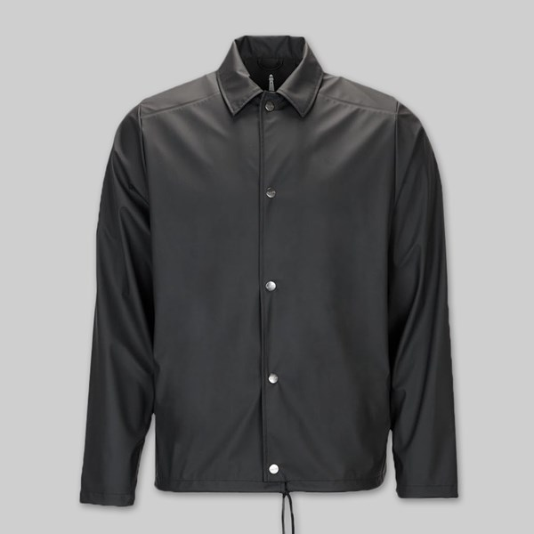 RAINS COACH JACKET BLACK