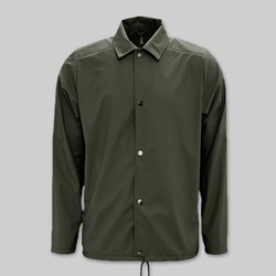 RAINS COACH JACKET GREEN