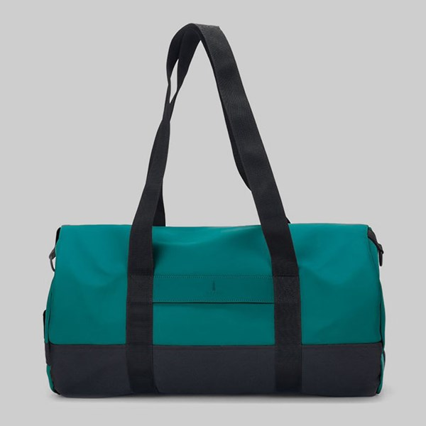 RAINS DUFFEL BAG DARK TEAL