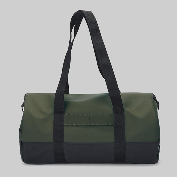 RAINS DUFFEL BAG GREEN
