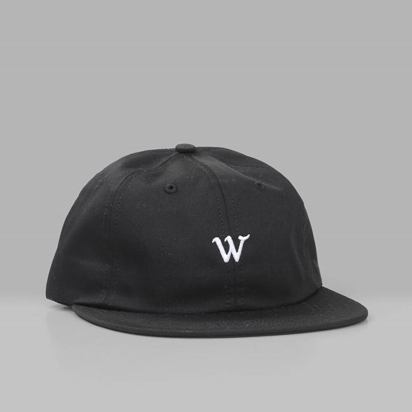 RAISED BY WOLVES COOPER 6 PANEL CAP BLACK