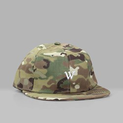 RAISED BY WOLVES COOPER 6 PANEL CAP CAMO