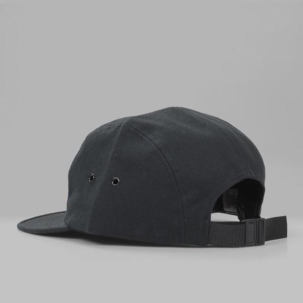 RAISED BY WOLVES HALIFAX 5 PANEL CAP BLACK
