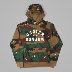 RAISED BY WOLVES MIRROR PREMIUM HOOD CAMO