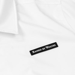 RAISED BY WOLVES NEPEAN COACH JACKET WHITE