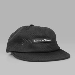 RAISED BY WOLVES NEPEAN POLO CAP BLACK