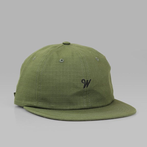 RAISED BY WOLVES RAINES POLO CAP OLIVE