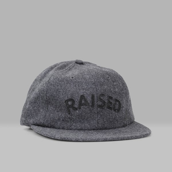 RAISED BY WOLVES RAISED 6 PANEL CAP BLACK