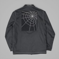 RAISED BY WOLVES SPIDER COACH JACKET BLACK