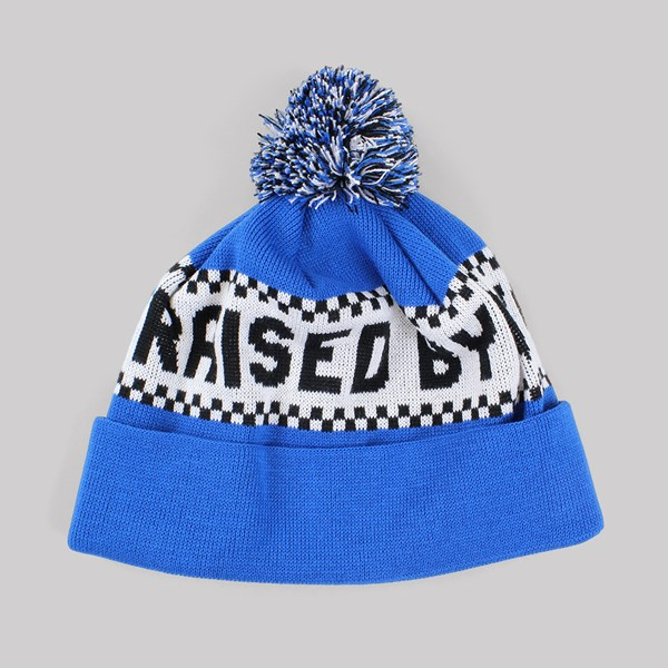 RAISED BY WOLVES VILLENEUVE TOQUE BEANIE BLUE