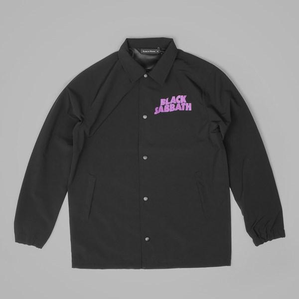 4b40d0e1 RBW X BLACK SABBATH MASTER OF REALITY COACH JACKET BLACK