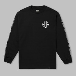 HUF REGIONAL LONG SLEEVE T-SHIRT BLACK