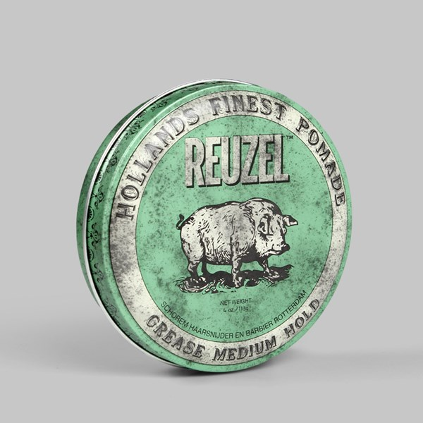 REUZEL GREEN - GREASE MEDIUM HOLD PIG