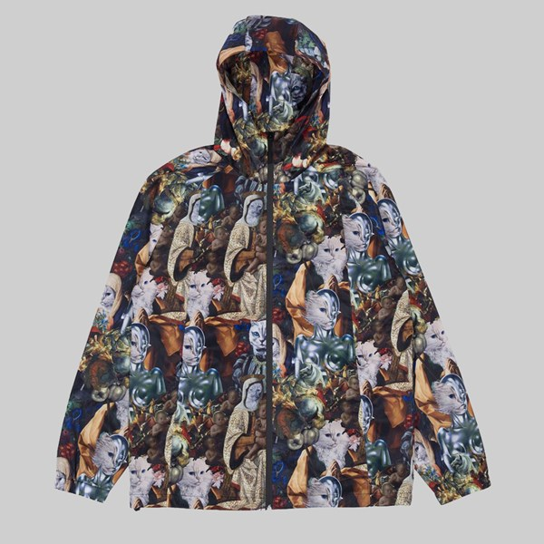 RIP N DIP NERMAISSANCE HOODED JACKET MULTI