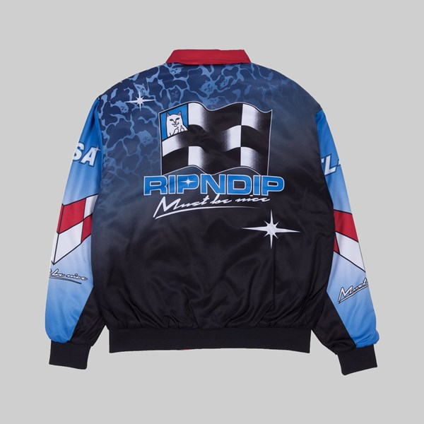 RIP N DIP NASCAR NERM PUFFY RACING JACKET