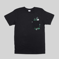 RIP N DIP BOTANICAL SS T-SHIRT BLACK
