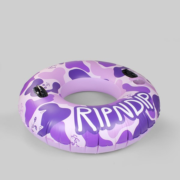 RIP N DIP CAMO TUBE FLOAT PURPLE