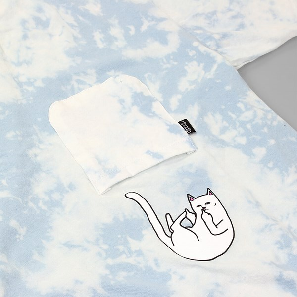 RIP N DIP FALLING FOR NERMAL POCKET TEE BLUE
