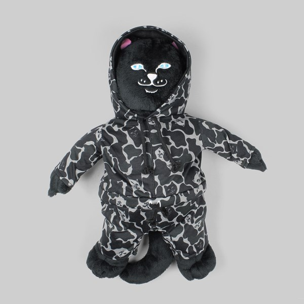 RIP N DIP JERM CAMO PLUSH TOY BLACKOUT CAMO