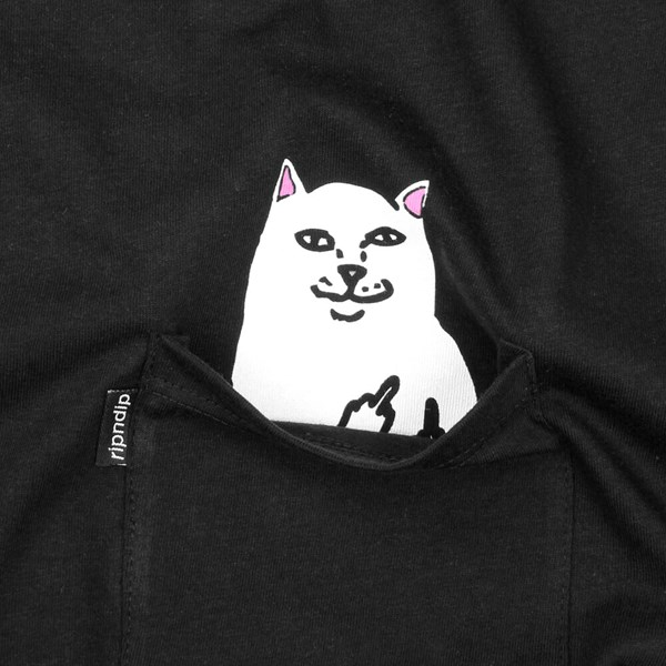 RIP N DIP LORD NERMAL SS T-SHIRT BLACK