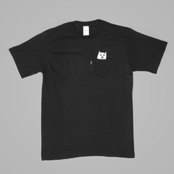 RIP N DIP LORD NERMAL POCKET TEE BLACK