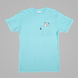 RIP N DIP LORD NERMAL POCKET TEE TURQUOISE