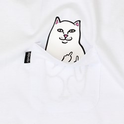 RIP N DIP LORD NERMAL POCKET TEE WHITE