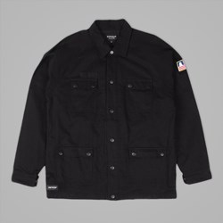 RIP N DIP M-69 WE BAD MILITARY JACKET BLACK